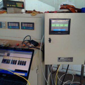 ارتباط درگاه RS485 MODE BUS در خط تولید