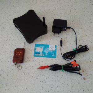 کنترل نجهیزات لوازن جانبی از ظریق پیامک و فعال سازی سیستم امنیتی همراه با ریموت و دزدگیر