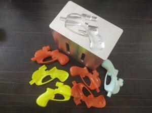 تفنگ آب پاش اسباب بازی-تفنگ آبپاش با استفاده از آلتراسونیک و آب بند کردن آن